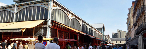 Marktplatz-Burgund