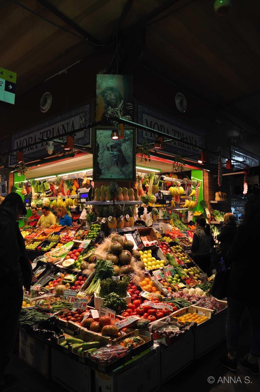 Markt in Sevilla