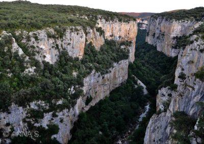 Canyon in Baquedano.